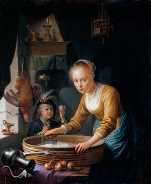 Gerrit Dou [Public domain], via Wikimedia Commons